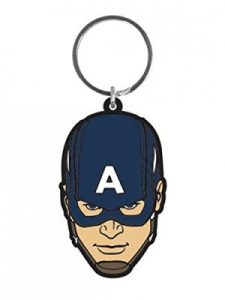 The Avengers Steve Rogers Keychain