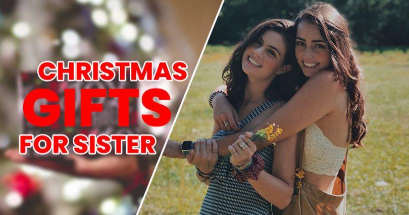 Christmas cosmetics for sister