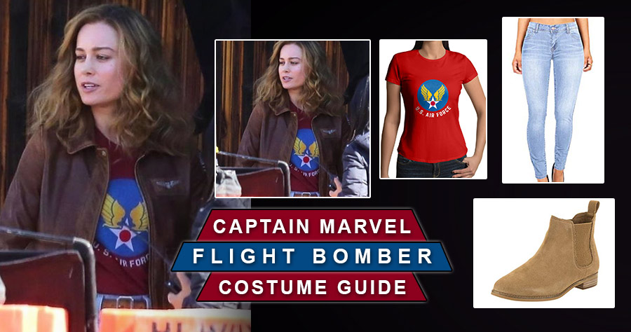 Captain Marvel Air Force Costume Usa Jacket A cool, exciting recruitment tool. captain marvel air force costume usa jacket