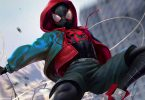 Spider-man Into The Spider-verse Miles Morales Costume