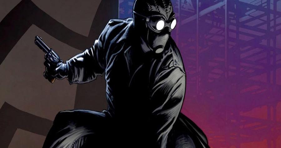 Details about  /Marvel Comics Spider Man Noir Peter Parker Cosplay Costume Black Uniform Outfits