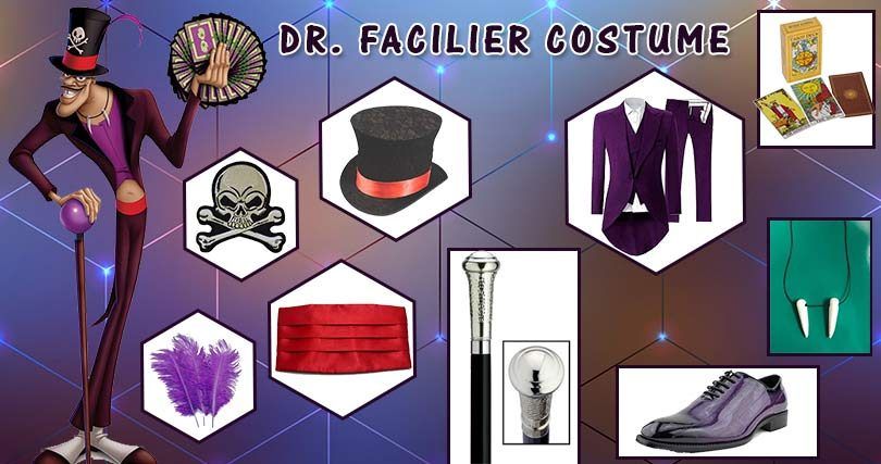How To Make Your Own Dr Facilier Cosplay Costume