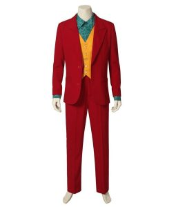 Joker 2019 Red Suit