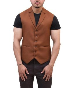 Joker 2019 Brown Vest