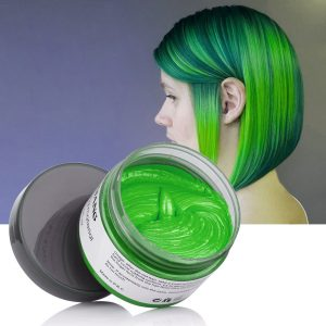 Green Hair Wax
