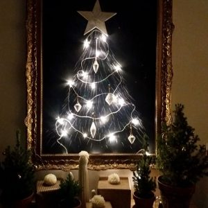 Add a Christmas Tree Frame