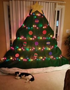 Be creative with your Christmas tree