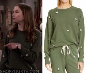 Emmy's Green Sweater from Merry Happy Whatever