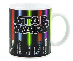 Star Wars Mug, Lightsabers Appear With Heat