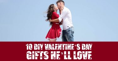 10 DIY Valentine's Day gifts he'll Love