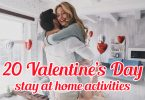 20 Valentine's Day stay at home activities