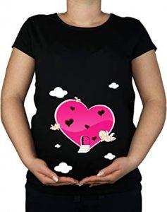 Cupid Maternity Tee