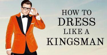 How to dress like a Kingsman