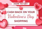 How to get cash back on your Valentine's Day shopping