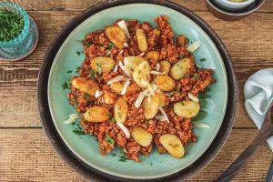 Potato Gnocchi with Pork Ragu