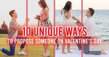 10 Unique Ways to Propose Someone on Valentine's Day