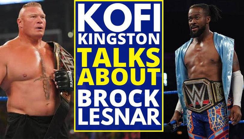 Brock Lesnar and Kofi Kingston Rematch