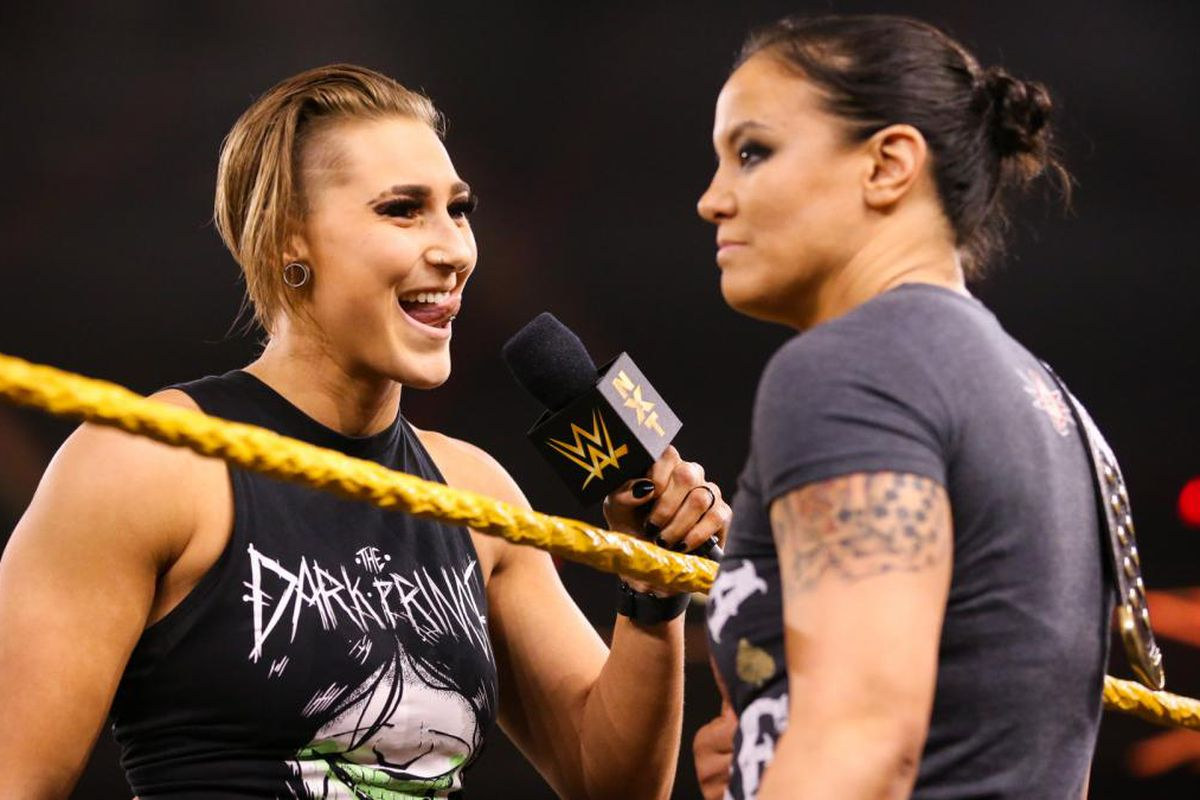 Shayna Baszler is about to get dethroned by Rhea Ripley