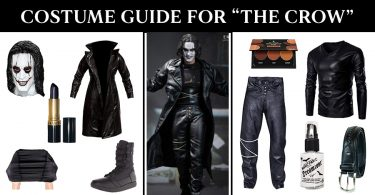 Complete Guide To The Crow Costume