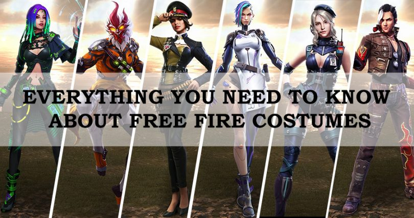 Everything You Need to Know About Free Fire Costumes