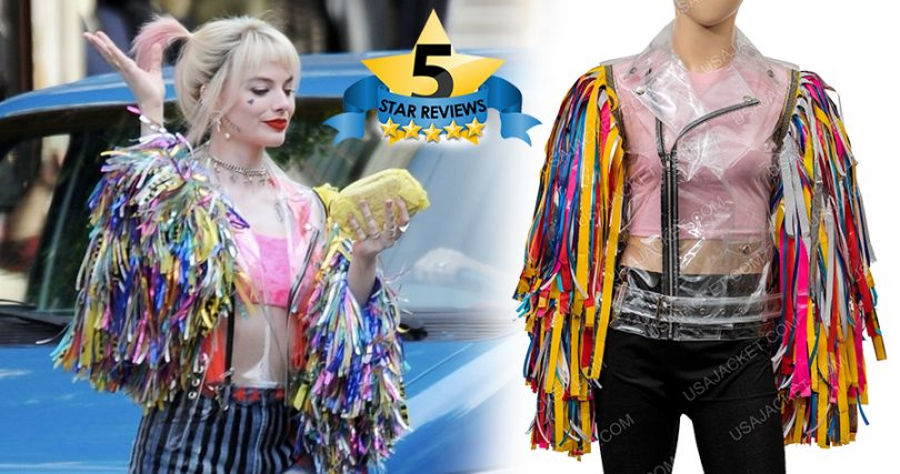 Harley Quinn Birds Of Prey Caution Tape Jacket Review