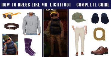 How to Dress like Mr. Lightfoot – Complete Guide