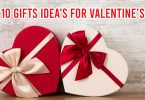 Top 10 Gifts Idea's For Valentine's Day
