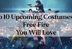 Top 10 Upcoming Costumes of Free Fire You Will Love