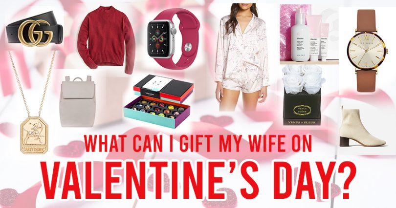 What can I gift my wife on valentine's day