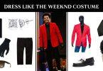 Dress Like The Weeknd costume
