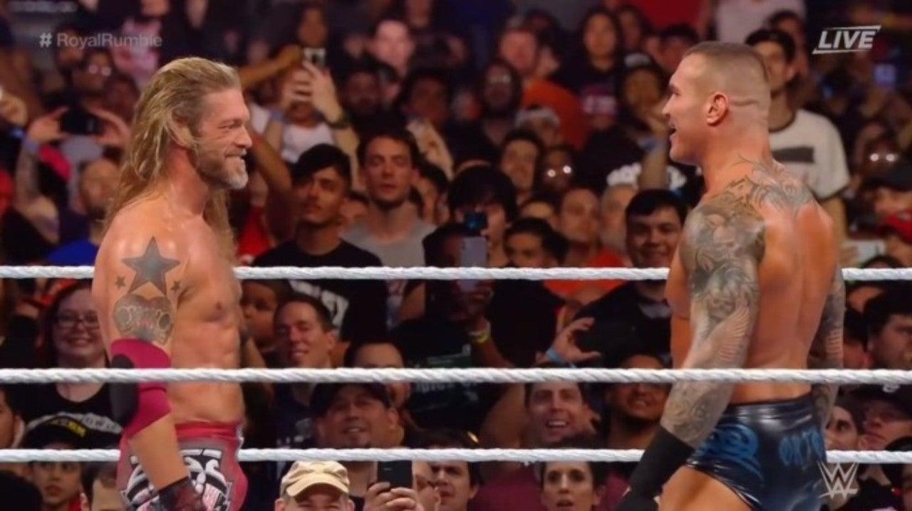 Edge against Randy Orton