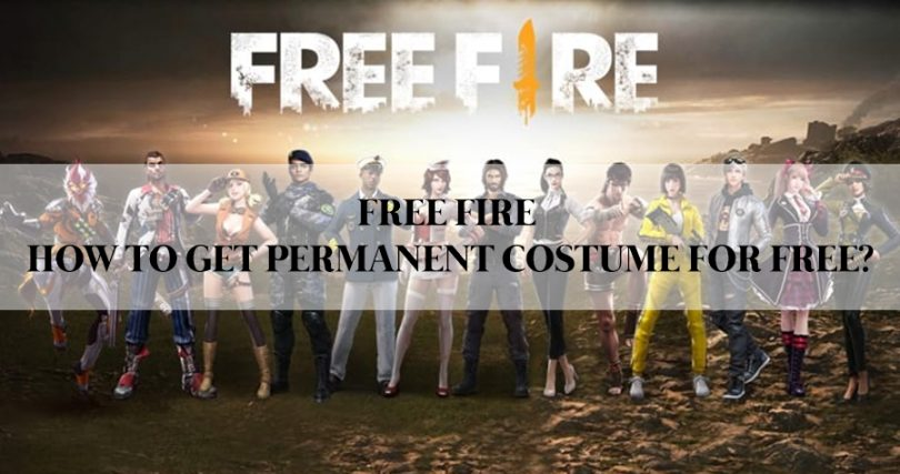 Free Fire How to get permanent Costume for Free