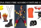 Garena Free Fire Alvaro Costume Guide