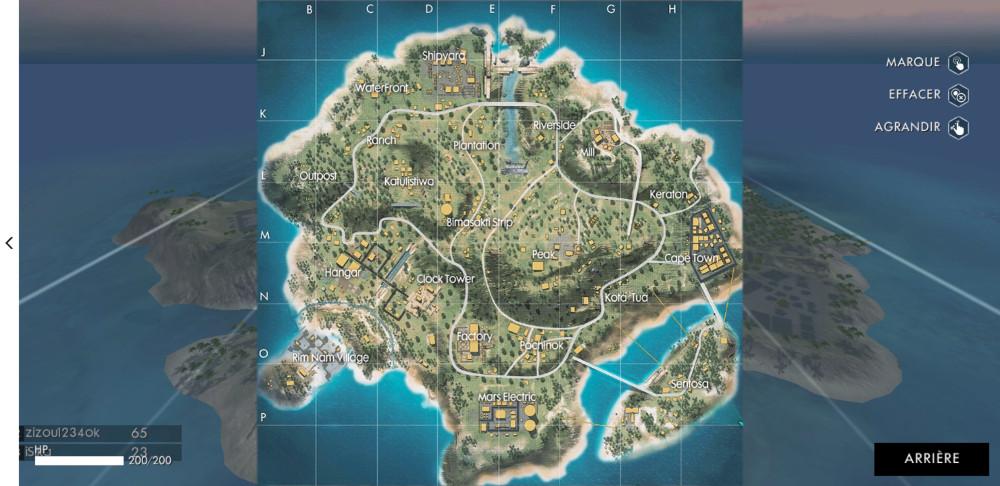 Keep an eye on the mini map