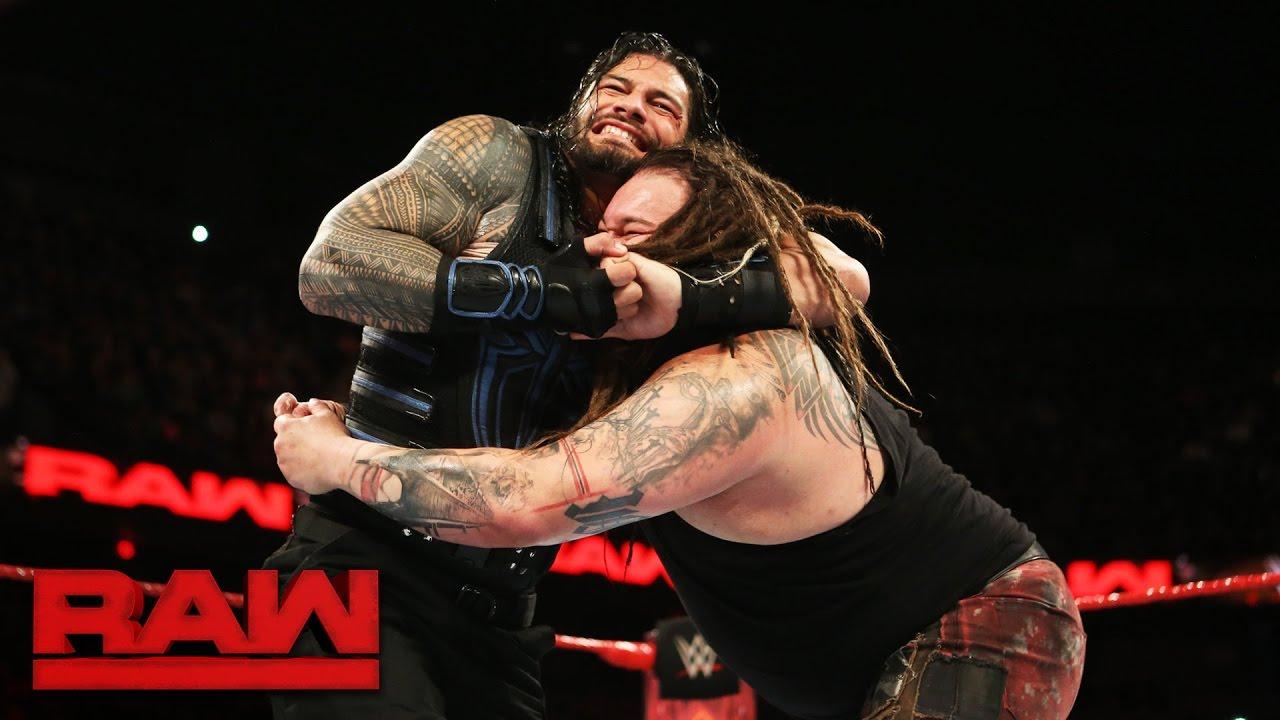 Roman Reigns against Bray Wyatt