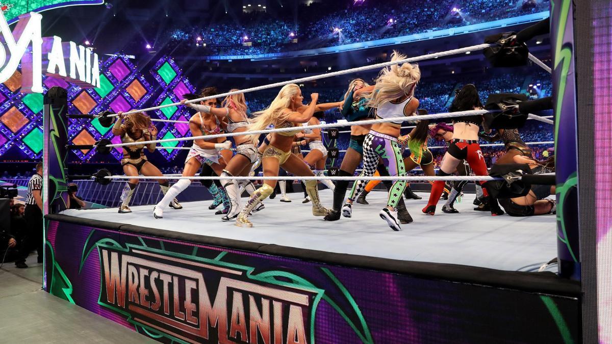 Third WrestleMania Women's Battle Royal