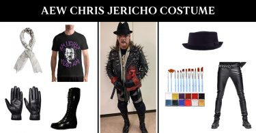 AEW Chris Jericho Costume
