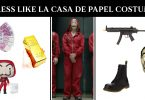 Dress Like la casa de papel costume