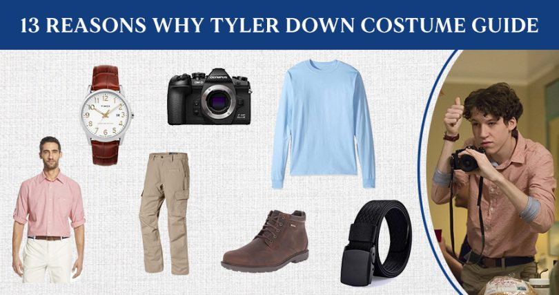 13 Reasons Why Tyler Down Costume Guide