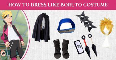 How to Dress Like Boruto Costume