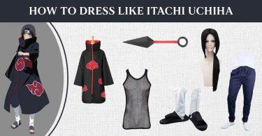 How to Dress Like Itachi Uchiha