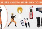 Dress like Naruto Shippuden Costume