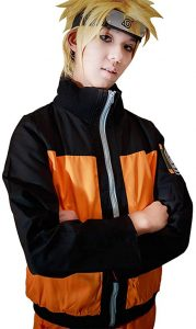 Naruto Cosplay Costume Jacket