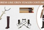Dress Like Eren Yeager Costume