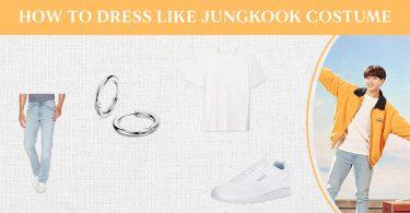 How To Dress Like Jungkook Costume