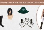 How To Make Your Mikasa Ackerman Costume Guide