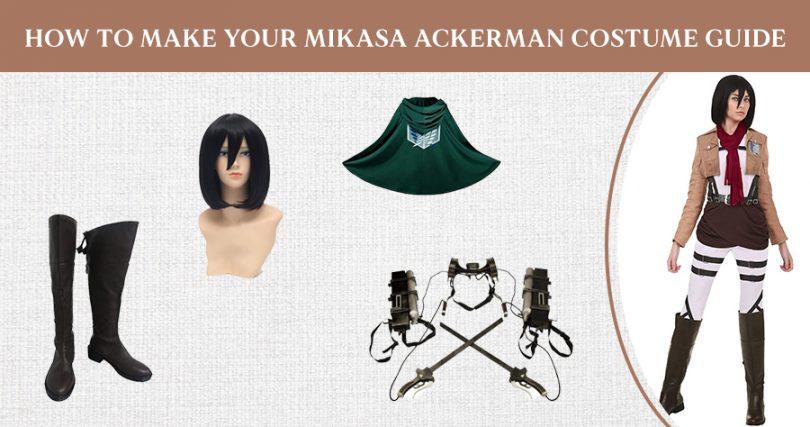How To Make Your Mikasa Ackerman Costume Guide
