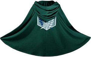 Mikasa Ackerman Costume Cloak