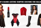 Women's Blood Lusting Vampire Costume for Halloween