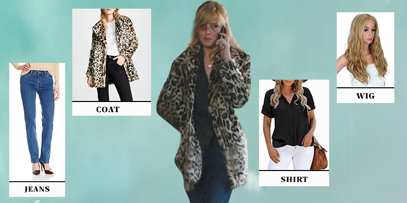 Yellowstone S02 Beth Dutton Cheetah Print Coat